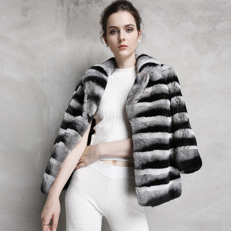 Compare Prices on Rex Rabbit in Chinchilla Style Fur Coat- Online