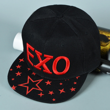 2016 Hot Fashion Sport Baseball Cap Casual Tourism Hats Pentagram Letter Snapback Hip-Hop Hat Casquette For Boy And Girl W037(China (Mainland))