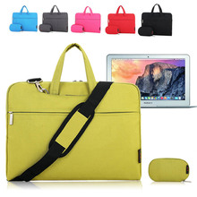 Shoulder Bag Pouch Sleeve Protective Case Briefcase Messenger For Apple Macbook Air/ Pro 11 12 13 15 inch Retina Laptop Notebook
