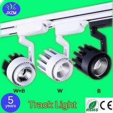 LED leuchtet Track Beleuchtung 15 Watt Bekleidungsgeschäft Hintergrund Hallendecke Aufbau cob Schienenlicht AC110V 220 V Freies Verschiffen(China (Mainland))