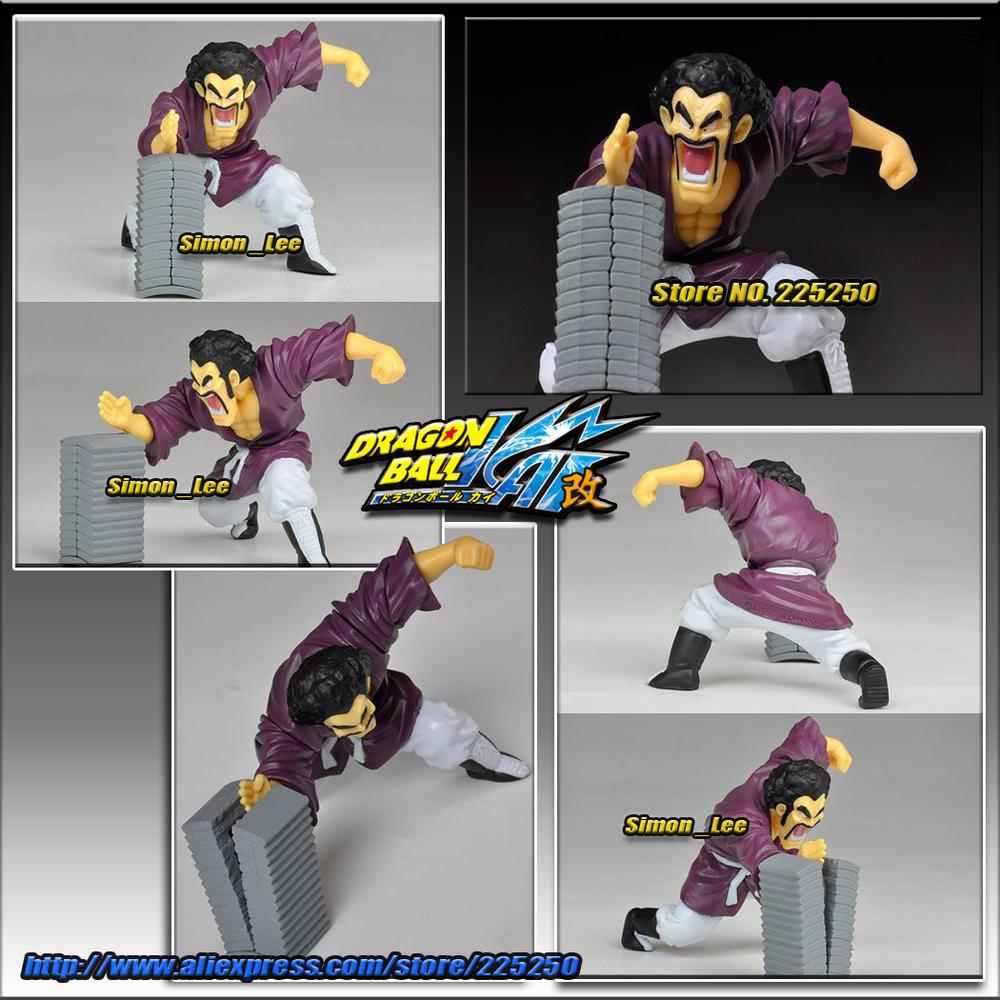Free Shipping Japan Anime DRAGONBALL Dragon Ball Z/Kai Original BANDAI PVC Toys Figure HG PLUS+EX Action Pose 2 Mr.Satan/Hercule(China (Mainland))
