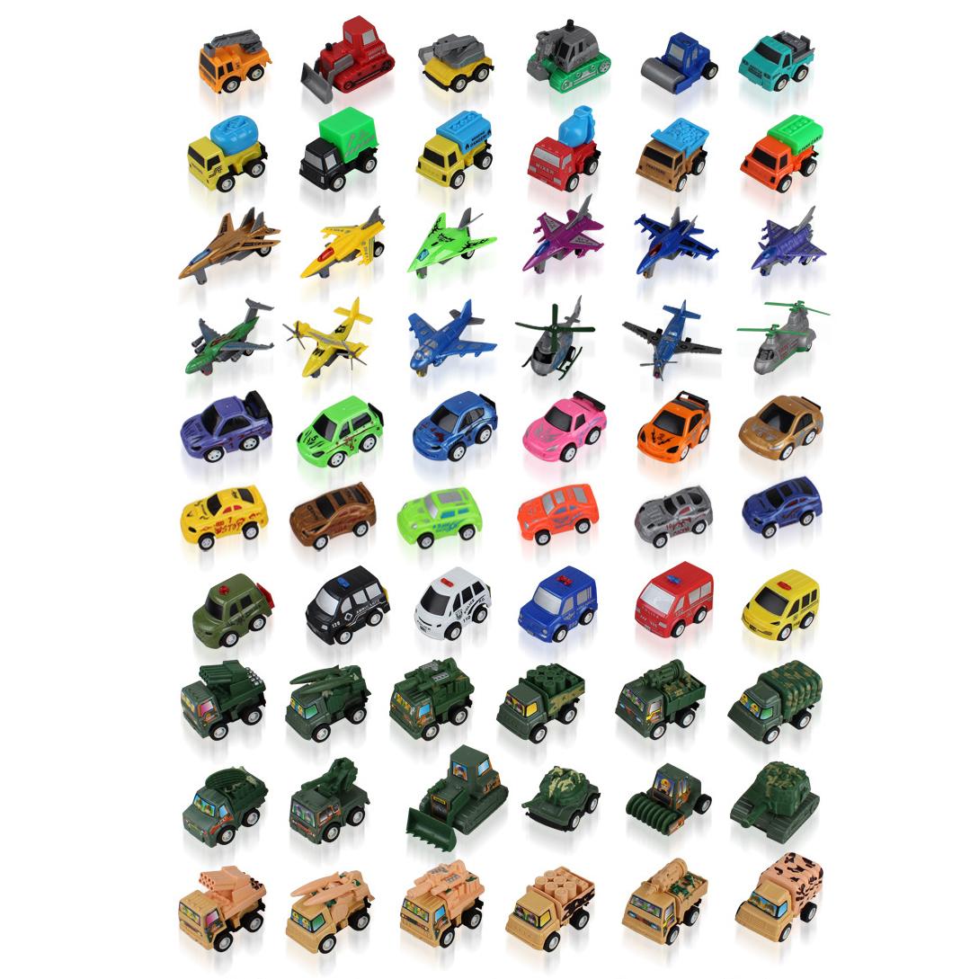 6pcs/lot Pull Back Car $ airplane Toys Joint can move Racing Car Brinquedos Mini Cars Truck Street Car 60 styles 6-10cm(China (Mainland))