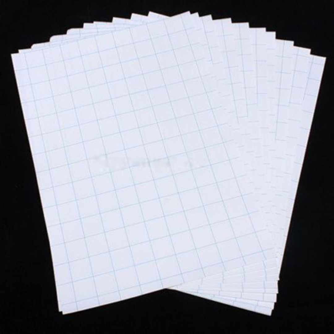 10 Sheets New A4 Iron-On Transfer Paper Heat Print Laser Water Transfer Paper For Light Color Fabric 297x210mm(China (Mainland))
