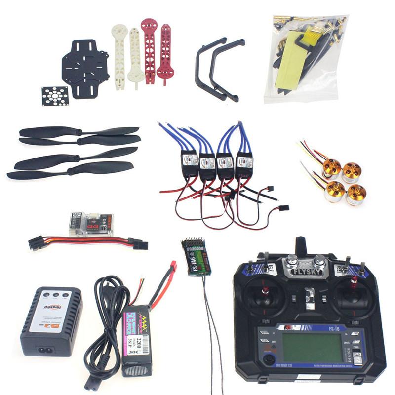 Full Set RC Drone Quadrocopter 4-axis Aircraft Kit F330 MultiCopter Frame QQ Super Flight Control Flysky FS-i6 TX F02471-H <br><br>Aliexpress