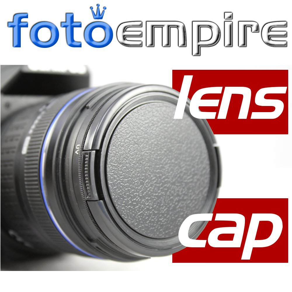 2Pcs 49mm Plastic Snap On Filter Front Caps Lens Cap for All DSLR SLR Camera Canon Nikon Sony Pentax Lens()