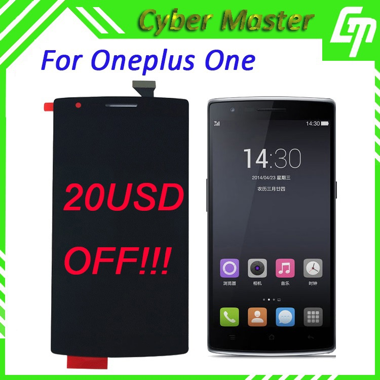The Best BRAND NEW Original A++++ 100% Perfect Tested Oneplus One LCD Display&Touch Digitizer with Frame for Oneplus One