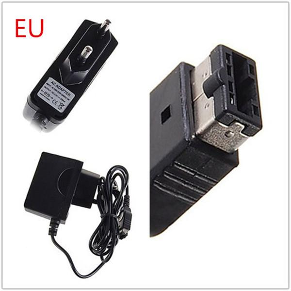 Большой Promation Высокое Качество ЗАРЯДНОЕ Устройство Адаптер Питания Для Nintendo DS NDS GBA SP ЕС Plug АГС-003 (ASI) черный AC100-250V replacement touch screen for nds nintendo ds