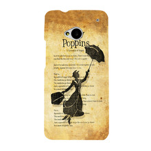 Peter Pan Mary Poppins Wizard Oz Mobile Phone Cover Hard UV Printing Case HTC M7 - Fashion Art Mall store