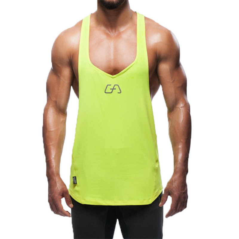2016 Brand Gym Shark Mens Tank Tops Stringer Bodybuilding Equipment Fitness Men's GYM Tanks Sports Clothes Gymshark Freeshipping(China (Mainland))