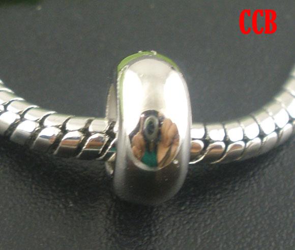 aliexpress buy doreenbeads 200 pcs silver tone color