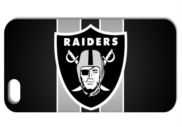 Logo For Oakland Raiders NFL style Hard Back Cover Case For iPhone 4 4s 5 5S 5C Q782(China (Mainland))