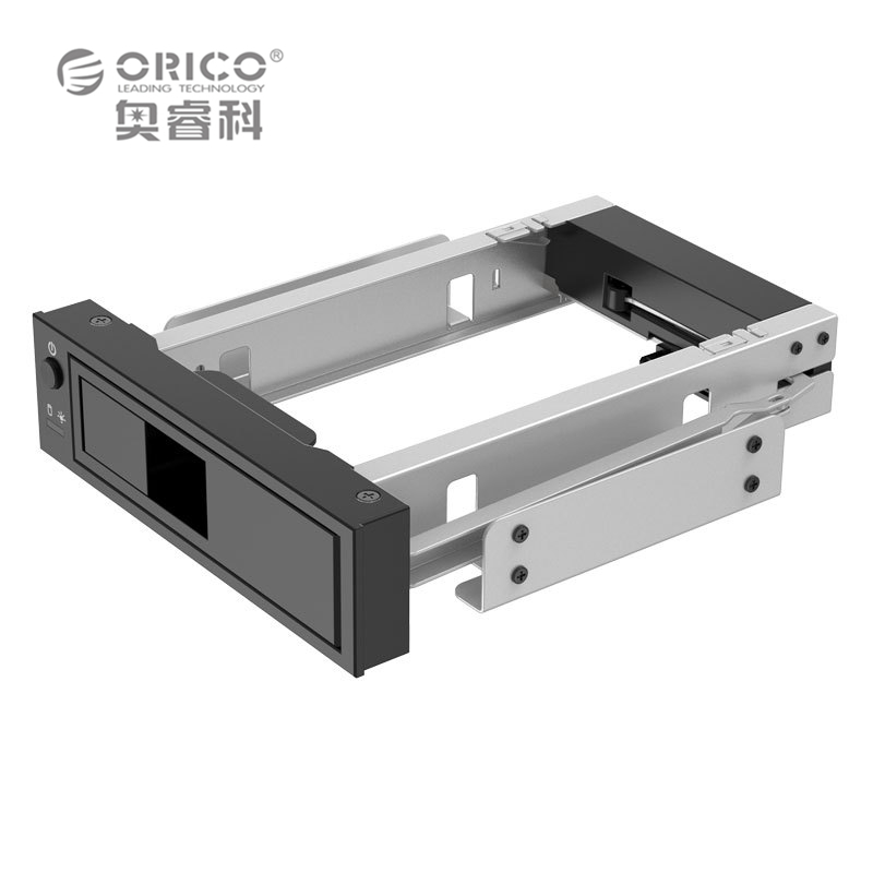 ORICO 1106SS CD / DVD - ROM Space HDD Mobile Rack Internal 3.5 Inch HDD Convertor Enclosure Support Build Raid Tool Free Black(China (Mainland))