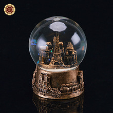 Buy WR Valentine Gift 2017 Paris Style Crystal Ball Romantic Creative Gifts Transparent Glass Ball Home Decor Metal Crafts 7x7x9 Cm for $15.01 in AliExpress store