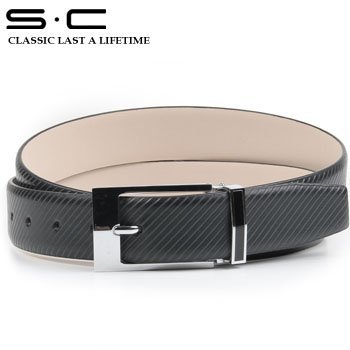 S.C Free Shipping Cowhide leather snap belts + New Brand Belt + Fashion Jeans Belt