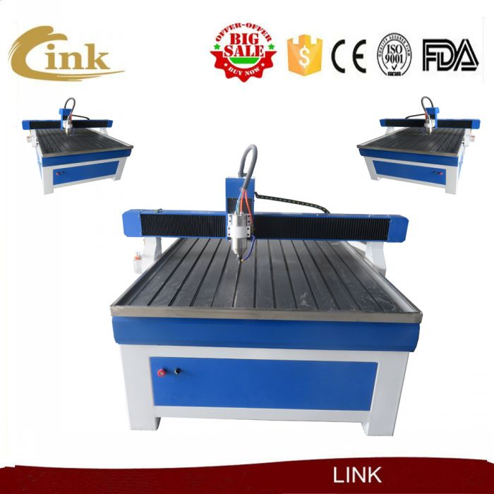 Reasonable price dust collector for cnc router/1200*2400mm 1300*2500mm wood stair cnc router machine(China (Mainland))