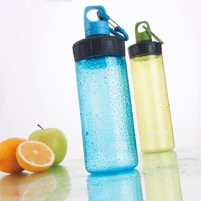 New Arrival Measuring Bicycle Lock Plastic Water Bottles With Rope 600ml Portable Sport My Space Cups Leak Proof 1 Piece(China (Mainland))