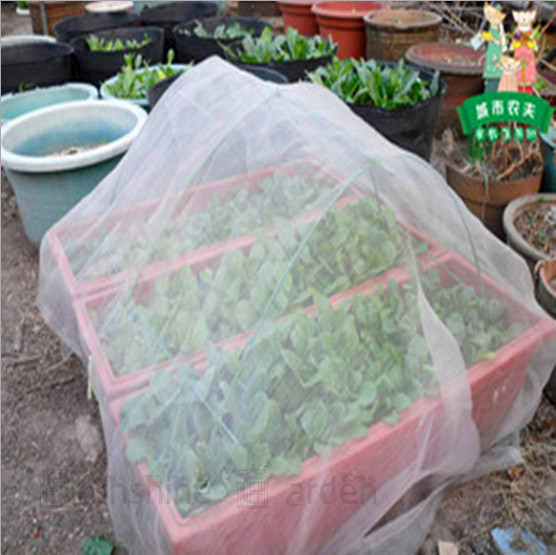 40Mesh Insect Netting Garden Vegetables Protection 2M Width x5M Length For Fruit Tree Greenhouse Pest(China (Mainland))