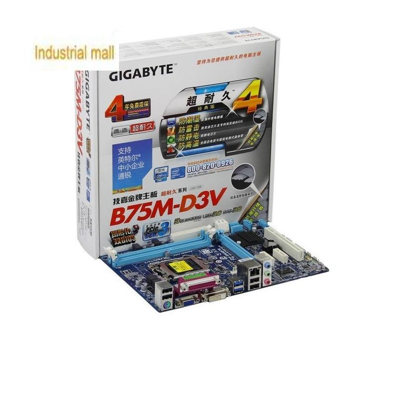 Gigabyte ga-b75m-d3v b75 motherboard 1.1 perfect<br>