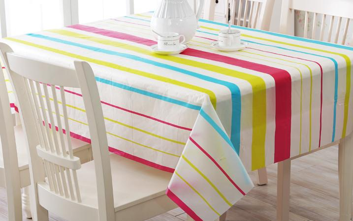pvc party table cloth plastic waterproof oilproof toalhas. Black Bedroom Furniture Sets. Home Design Ideas