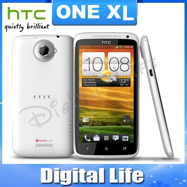 Unlocked Original HTC One XL G23 Android GPS WIFI 4.7''TouchScreen 8MP camera 16GB internal Memory Cell Phone(China (Mainland))