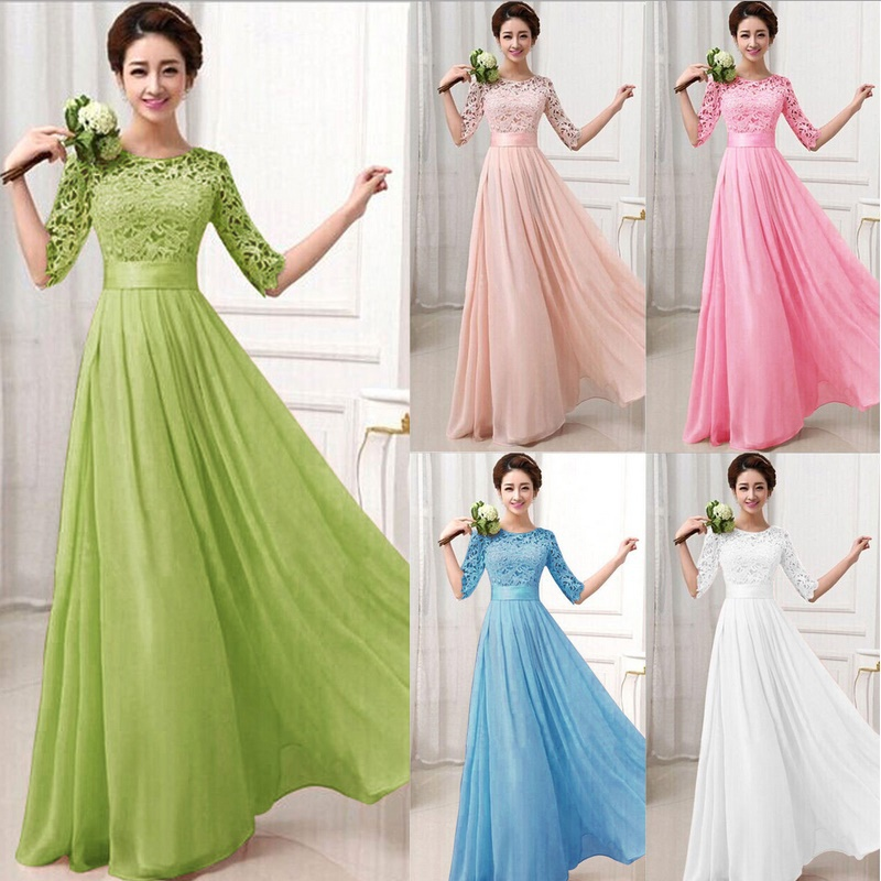Maxi dresses for wedding party