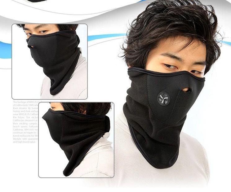 Outdoor Sports Ski Mask Fleece Motorcycle Winter Warm Snowboard Face mask Hood Windproof Cap Cycling Thermal Balaclavas Scarf(China (Mainland))