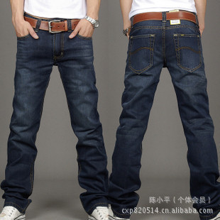 lewis jeans men original perfume jeans men 817 men perfume brand denim pants dark bule(China (Mainland))
