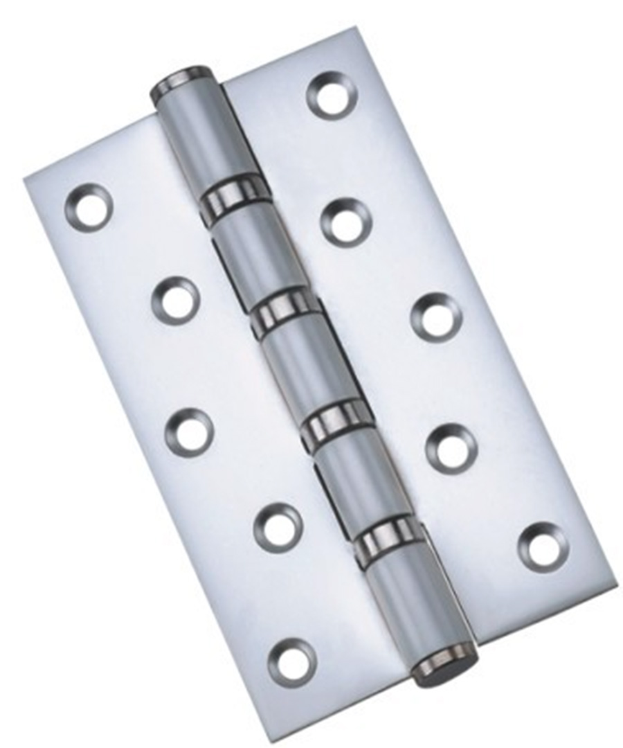 free shipping wholesale 5 inch stainless steel flat open hinge(China (Mainland))