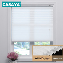 CASAYA Cellular Honeycomb Shades Rope Control Light Filtering Privacy Horizontal Window Blinds 10 ColorsChina