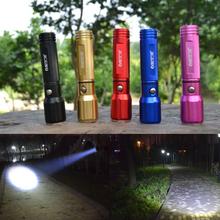 7/2015 The Newest LED Flashlight Hight power 10W 3000 Lumens LED Torch Zoomable Flashlight tatica light lantern bike light (China (Mainland))