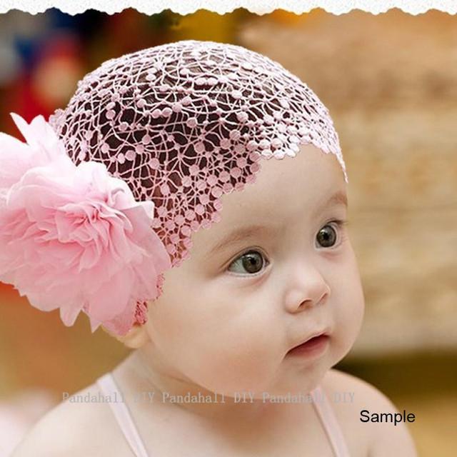 Детские повязки на голову с цветами Повязки на голову для маленьких девочек Модные ...