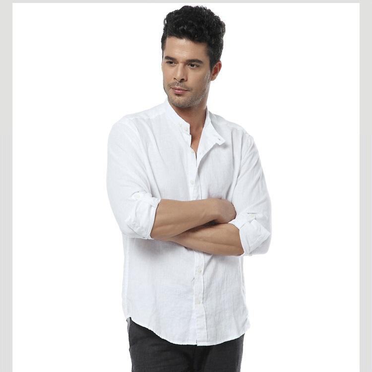 Льняные рубашки мужские - 686d5