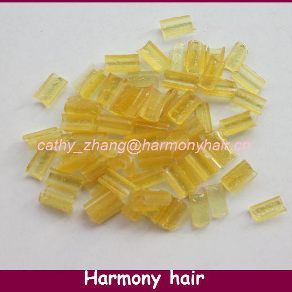 Free shipping 100pcs Keratin glue nail Nail Tip Keratin U-Shaped Fusion Chips