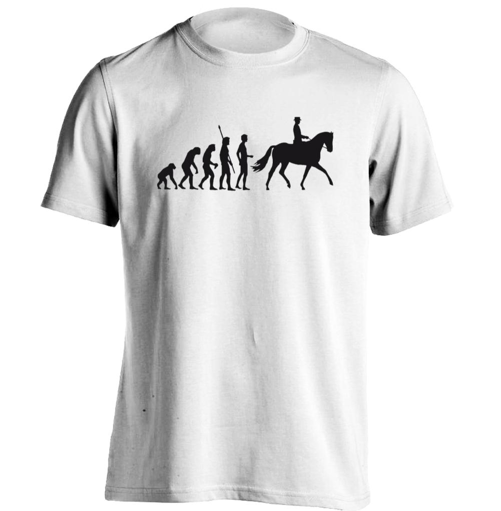 horse riding evolution mens womens personalized t shirt custom t shirt in t shirts from men 39 s. Black Bedroom Furniture Sets. Home Design Ideas