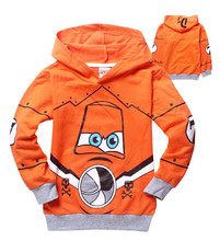 Hot Sale Pixar Plane Dusty Crophopper Goodies Outfit Hoody Coat Sweatshirt for Boys Girls Kids Children SA-076(China (Mainland))