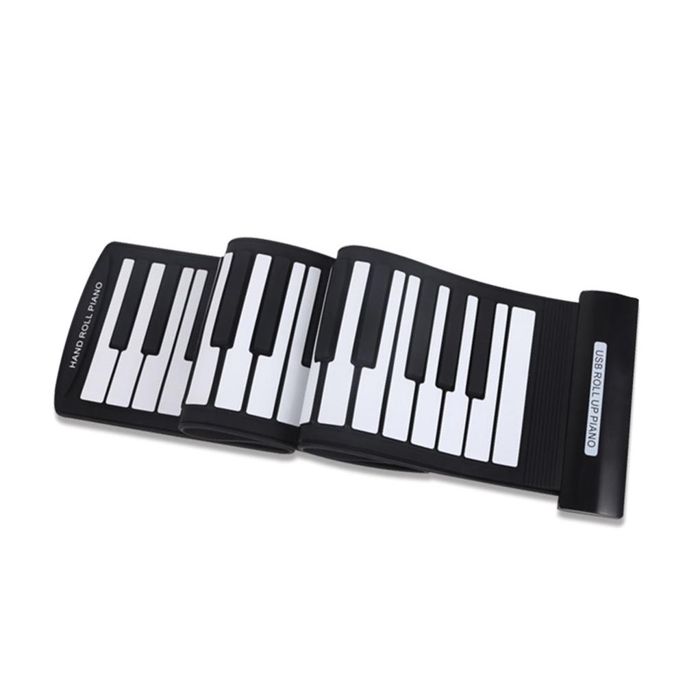 High Quality Portable 61 Keys USB MIDI Electronic Keyboard Piano Flexible Roll-Up Piano Hand Roll Piano(China (Mainland))