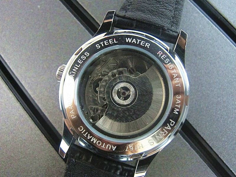 Мода 43 мм Parnis Последние Автоматический Механизм Сапфировое стекло Часы