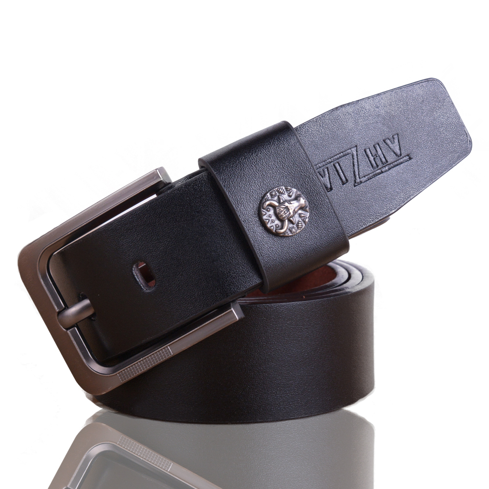 men pu leather waistband designer belts men high quality belts for men fashion male strap(China (Mainland))