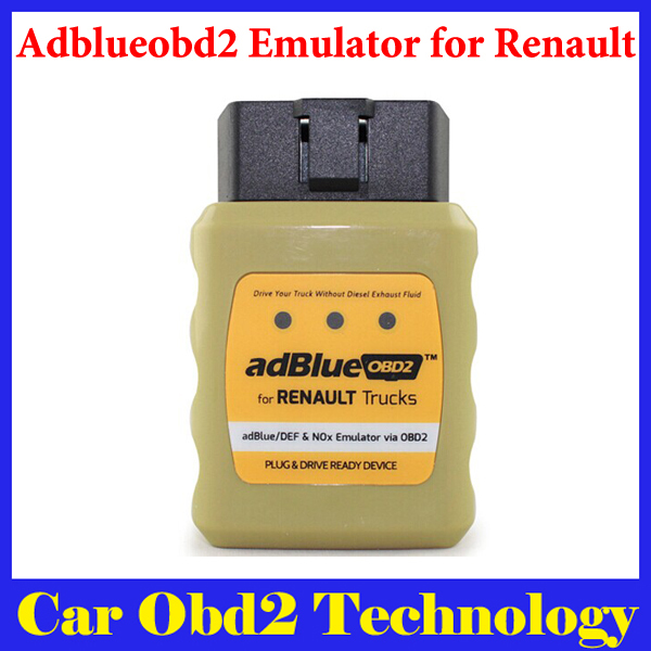 2015 New Arrival Truck Adblue OBD2 Emulator for Renault Trucks Plug and Drive Ready Device AdblueOBD2 Emulator Free Shipping(China (Mainland))