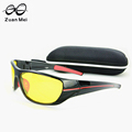 Zuan Mei Brand Polarized Night Vision Sunglasses Men Hot Sale Quality Goggle Women Brand Designer Driving