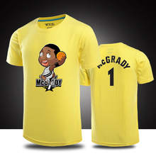 Hot summer 2015 fashion round neck men T shirt on the 1st basketball cartoon Q version short-sleeve cotton T-shirt campaign(China (Mainland))