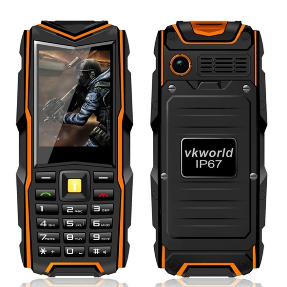 Original VKWorld Stone V3 Waterproof IP67 Dustproof Shockproof Cell Phone Dual Sim 5200Mah Battery GSM outdoor Telephone Mobile(China (Mainland))
