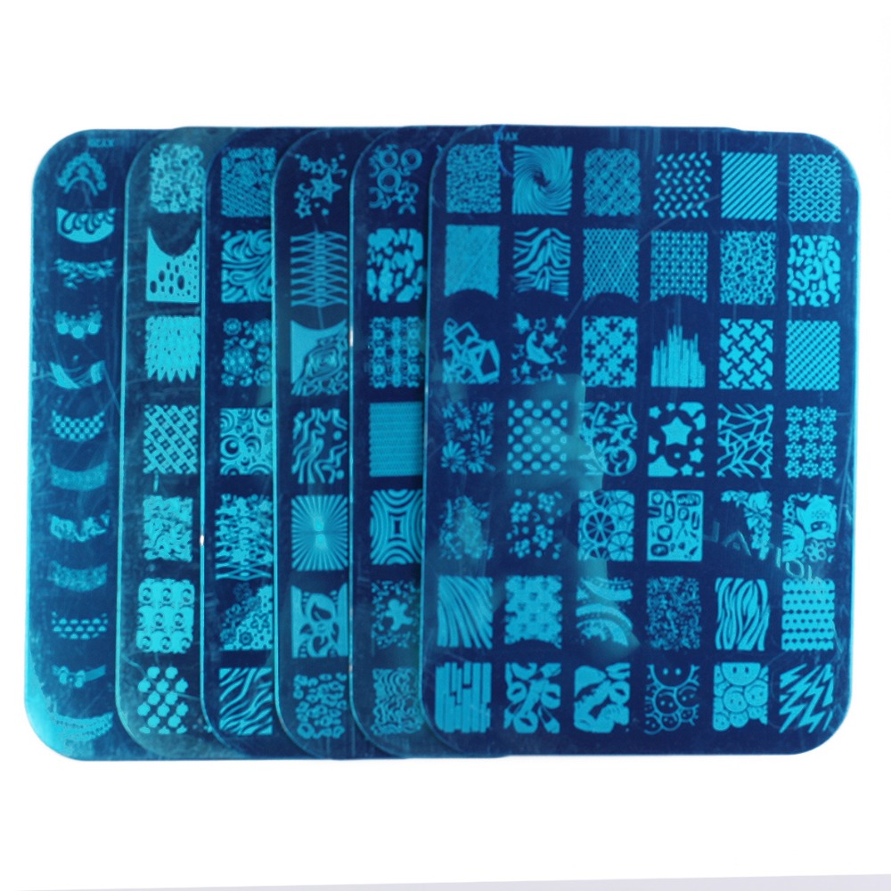 New Arrival 10 Pcs XL Nail Art Image Stamping Plates XY11-20 Stamping Nail Art DIY Image Plates #WJ116(China (Mainland))