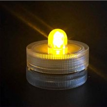 10x LED waterproof candles for wedding/evening/flower decoration tea bottles(China)