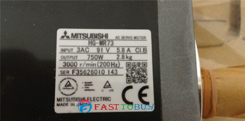 HG-MR73J AC Servo Motor 5.8A 750W 2.4NM 3000rpm Oil seal with 3M Cable New<br><br>Aliexpress