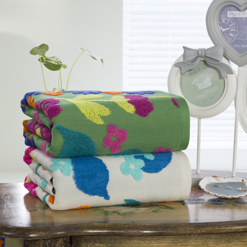 Floral Hotel Travel Gym Golf Beach Bath Towel Large For Adults Wrap Bathroom Bath Sheets High Quality Shower Turkish Towel Gift(China (Mainland))