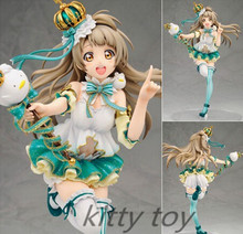 Japanese Anime Figure ALTER Love Live Minami Kotori Action Figure 1/7 scale painted Snowman Ver Doll Model Toy 23cm LA076(China (Mainland))