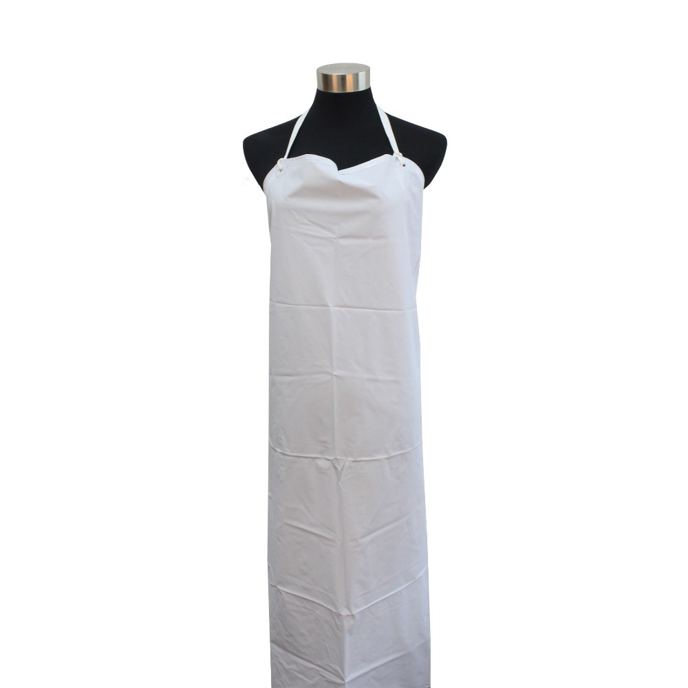 Industrial Heavy Duty Waterproof White Water Proof Apron Butchers Kitchen(China (Mainland))