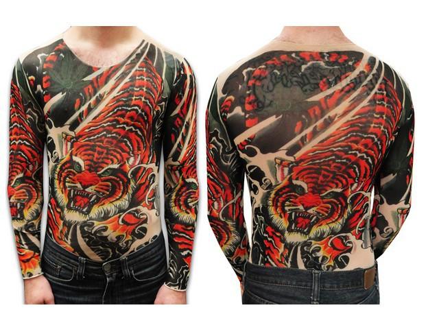 Popular full sleeve tattoo shirts aliexpress for Tattoo sleeve shirts for women