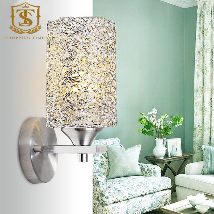 modern led aluminum wall mounted lamp for bedroom PW015-1(China (Mainland))
